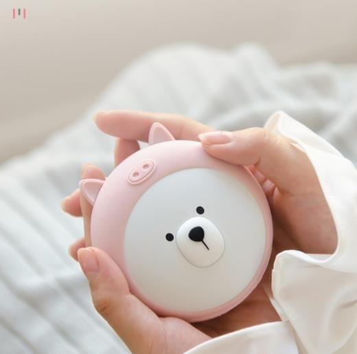 充電暖手寶行動電源兩用usb迷你隨身小便攜式暖寶寶可愛女暖手冬季 亞斯藍