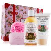 L'ERBOLARIO 蕾莉歐 新幸福旅行箱系列-玫瑰禮盒4件組(500ml)