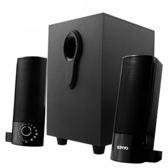 [哈GAME族]免運費 可刷卡 KINYO 耐嘉 US-330 2.1多媒體音箱 木質重低音箱 四種不同組合搭配 立體聲音效