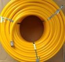 [ 家事達 ]日本INDUS PASCAL 7.5mmx50M 空壓管/耐40~160kgf 特價 耐高壓風管 夾紗管