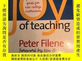 二手書博民逛書店快樂講課:給新入職的大學老師 The罕見Joy of Teach