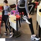 來福,B156運動褲雙線白條斑線首選運動褲瑜珈褲路跑健身服路跑長褲,單長褲售價450元