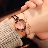 手錶韓版簡約女學生chic風森繫網紅別樣小巧迷妳可愛    秘密盒子
