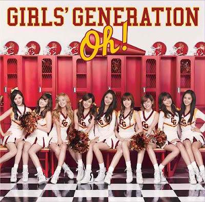 少女時代  Oh ! 日文單曲  CD (音樂影片購)