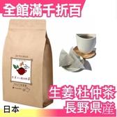 【長野県産 生姜 3gx60包】日本 養生杜仲茶 茶包 超值量販包 飲品 零食【小福部屋】