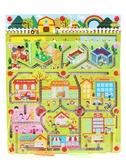 磁性迷宮玩具兒童寶寶益智女孩男孩智力開發磁力迷宮運筆走珠玩具