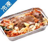 燒烤韓式豬五花片200G/盒【愛買冷凍】