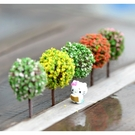 圓球小樹多肉微景觀(單個) 多肉裝飾 CARMO【A0UP001】