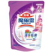 魔術靈 地板清潔劑 補充包 (晨露花香) 1800ml/包