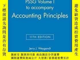 二手書博民逛書店Pssg罕見Volume I To Accompany Accounting Principles 11th Ed