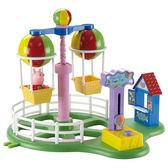 ☆愛兒麗☆【Peppa Pig】粉紅豬小妹 歡樂樂園系列 熱氣球遊戲組