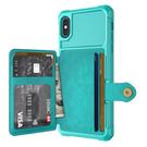 插卡皮套Galaxy S21 Ultra手機套 三星純色簡約note20手機殼 三星S20/S10/S9 Plus保護殼 SamSung N10/N9保護套