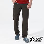 PolarStar 男 彈性吸排UV機能長褲『鐵灰』P20351 戶外│露營│釣魚│休閒褲│登山褲│耐磨褲