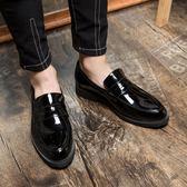特大碼尖頭休閒鞋 皮鞋紳士鞋婚鞋【五巷六號】x223