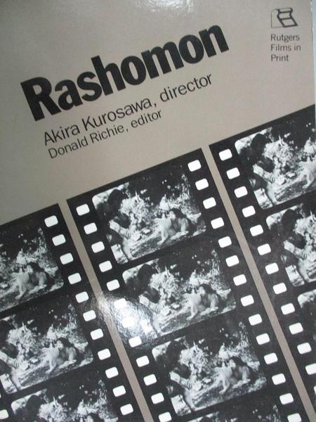 【書寶二手書T7/大學藝術傳播_OPM】Rashomon_Kurosawa, Akira (EDT)
