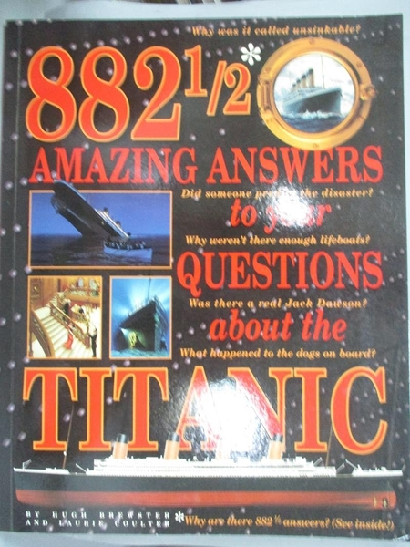 【書寶二手書T2/少年童書_YBC】882 1/2 Amazing Answers to Your Questions