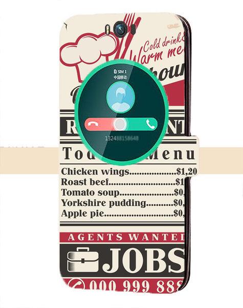✿ 俏魔女美人館✿ 【復古單張*側掀套】華碩ZenFone 適用多種 手機殼 手機套 保護套 保護殼