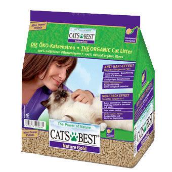 香桔士★【貓砂】德國凱優 CAT'S BEST 環保優質凝結木屑砂(紫標長毛貓專用) 5L