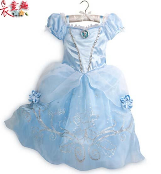 衣童趣 ♥女童 公主裝 角色扮演 萬聖節 戲劇演出連身裙 白雪公主洋裝