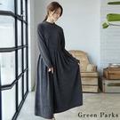 ■Chocol Raffin■  一件完成大人感穿搭 優雅十足的打褶設計 兩段式剪裁 增添層次感
