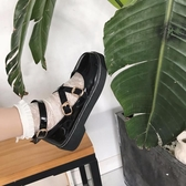 娃娃鞋 鬆糕鞋女日系jK制服鞋原宿圓頭小皮鞋厚底軟妹鞋子學院娃娃單鞋女 小天後