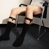 丝袜帶歐美正裝男士性感襪扣腿環誘惑金屬朋克吊襪帶 TNT男絲襪夾棉襪夾