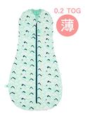 澳洲 ergoPouch二合一舒眠包巾竹纖維-浪花綠 (0.2tog薄款)