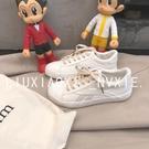 小白鞋女ins超火的鞋子學生原宿風百搭帆布鞋chic韓風板鞋【特價】