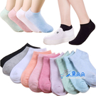 船型襪 女生隱形襪 船形襪 隱形襪 糖果色短襪 短襪 學生襪 不退色 透氣 薄款☆米荻創意精品館