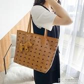 包包女2021新款潮軟皮通勤百搭時尚大容量購物袋側背手提托特大包 秋季新品
