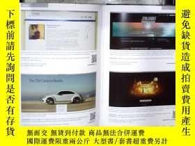 二手書博民逛書店ARCHIVE罕見全球平面電視廣告與海報2012 (大16開,硬