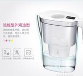 鎂離子過濾水壺廚房家用自來水凈水濾壺便攜式凈水壺YXS 夢娜麗莎