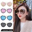 偏光太陽眼鏡 時尚飛行員墨鏡 網紅款 男女適用 防眩光 高品質太陽眼鏡 抗紫外線UV400