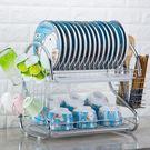 瀝水架碗架晾放盤子架滴水碗碟架子餐具收納廚房置物架用品儲物架BLNZ 免運