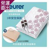 德國博依beurer x美國BIDDEFORD 銀離子抗菌床墊型電毯(雙人雙控定時)+乾溼兩用熱敷墊TP-6【免運直出】