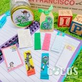 日本 迪士尼 玩具總動員 巴斯胡迪 玻璃瓶裝自黏便利貼組 標籤貼 留言貼 COCOS DM040