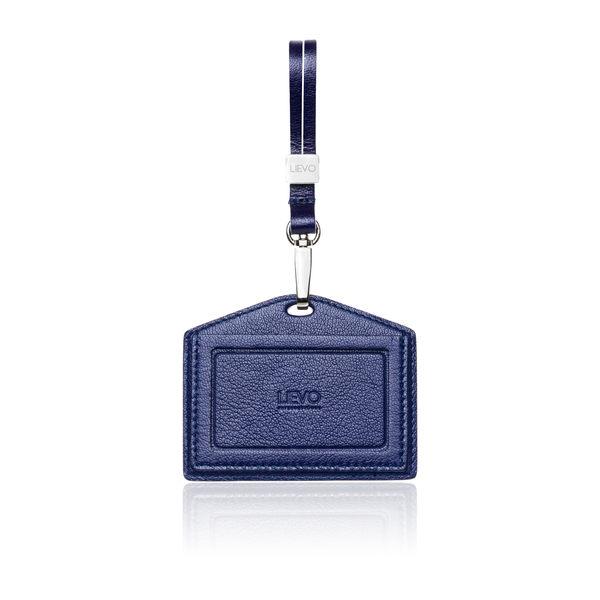 【LIEVO】 SHOW - 橫式感應證件套_午夜藍 情人節禮物