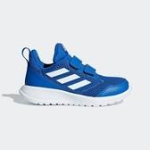 ADIDAS ALTARUN CF [CG6453] 中童鞋 運動 休閒 跑步 透氣 網布 魔鬼氈 保護 藍白