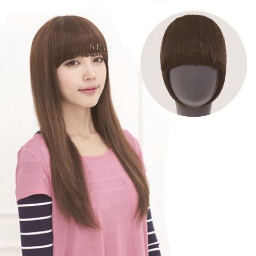 韓系齊劉海鬢角假髮片 髮型用品 髮片 瀏海髮片 仿真假髮