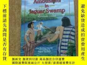二手書博民逛書店Ambushed罕見in Jaguar SwampY273401
