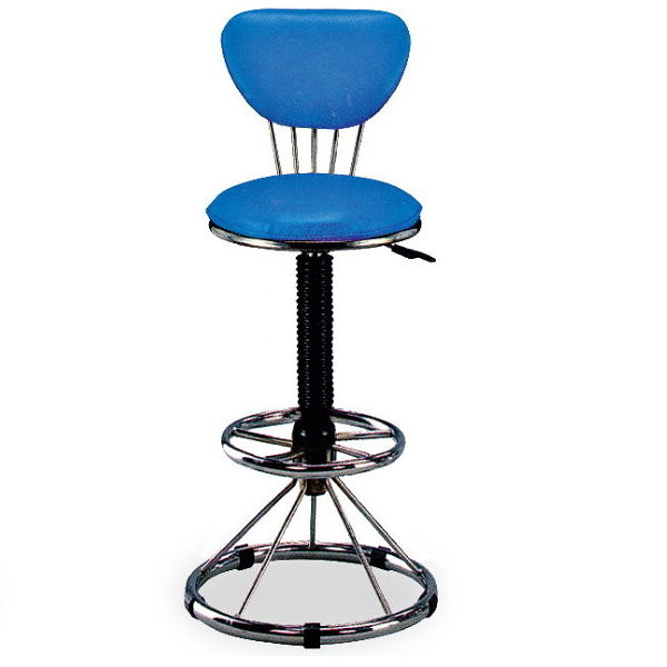 吧檯椅 FB-851-16 高吧椅 (藍)【大眾家居舘】