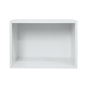 樂嫚妮 收納空櫃-3入組-木紋白色