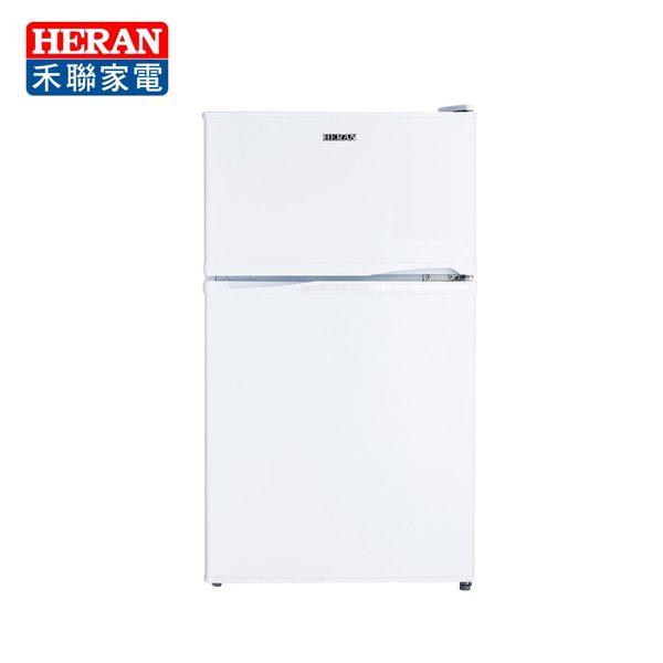 [HERAN 禾聯]100L一級節能雙門小冰箱 HRE-B1012