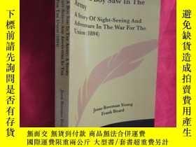 二手書博民逛書店What罕見a Boy Saw in the Army (小16开) 【详见图】Y5460 Young, Je