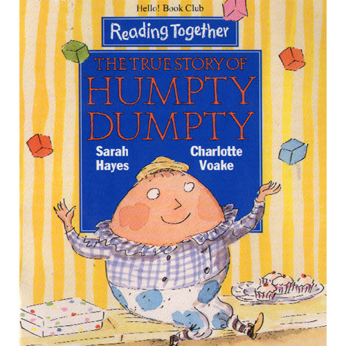 【Reading Together】The True Story of Humpty Dumpty(1Book + 1CD)