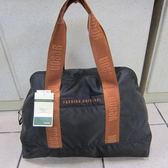~雪黛屋~YESON 肩背袋 購物袋 採購袋 輕巧好收納不占空間 防水尼龍布材質 耐重耐磨損#360咖