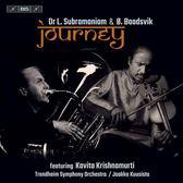 【停看聽音響唱片】【SACD】巴塔斯維克 & 蘇帕拉瑪尼亞姆:旅程-小提琴及低音號協奏曲