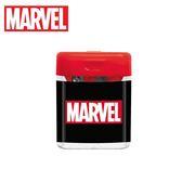 紅蓋款【日本正版】MARVEL 雙孔 削筆器 削鉛筆 日本製 漫威英雄 -  835289