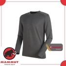 【MAMMUT 男 Runbold ML Crew Neck 《黑》】1014-00620-0033/長袖圓領/休閒衫/上衣