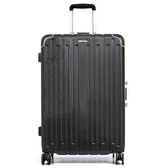 ALLDMA - 27吋 鋁框拉桿行李箱 三色可選 - V5-Q627岩石黑
